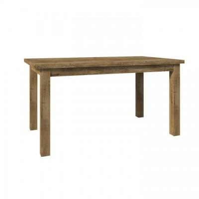 Rozkladací jedálenský stôl, dub lefkas, MONTANA STW