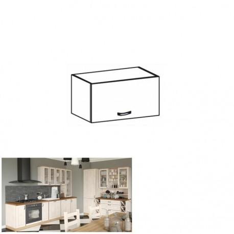 Horná skrinka, biela/sosna nordická, ROYAL G60KN