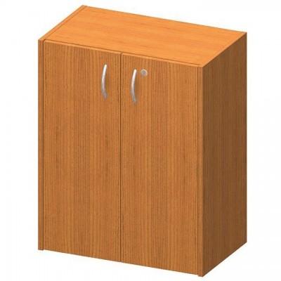 Nízka skrinka so zámkom, čerešňa, TEMPO ASISTENT NEW 011