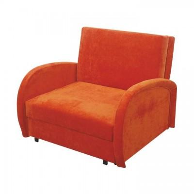 Rozkladacie kreslo, oranžová, MILI 1