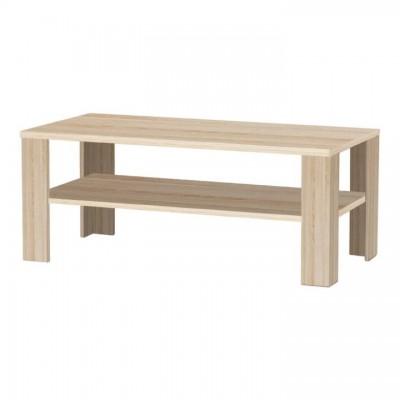 Konferenčný stolík, dub sonoma, INTERSYS NEW 22