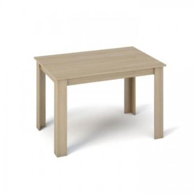 Jedálenský stôl, dub sonoma, 120x80, KRAZ