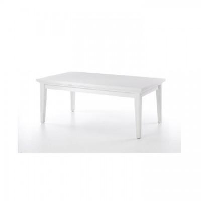 Konferenčný stolík, biela, PARIS 79872