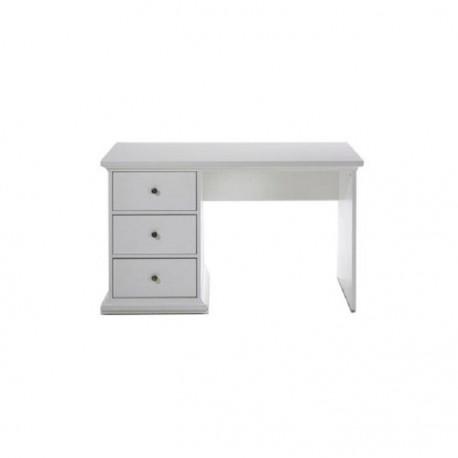 PC stôl, biela, PARIS