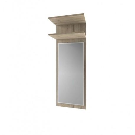 Panel so zrkadlom, dub san remo, ORESTES 40
