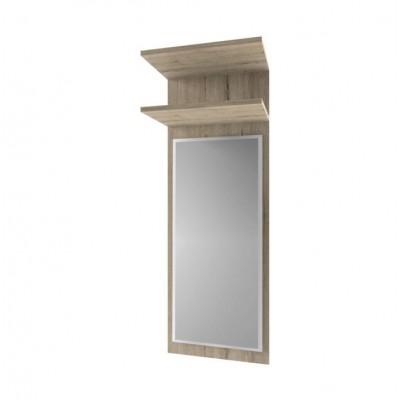 Panel so zrkadlom, dub san remo, ORESTES 45