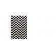 Koberec, slonovinová/tmavosivá, 133x190, ADISA