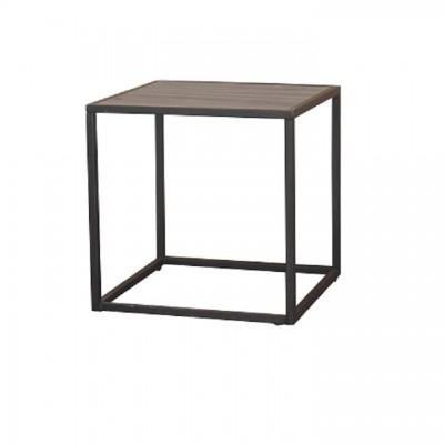 Príručný stolík, dub/čierna, JAKIM TYP 1