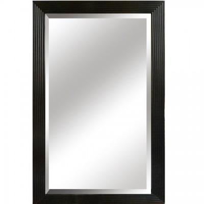 Zrkadlo, čierny rám, MALKIA TYP 1
