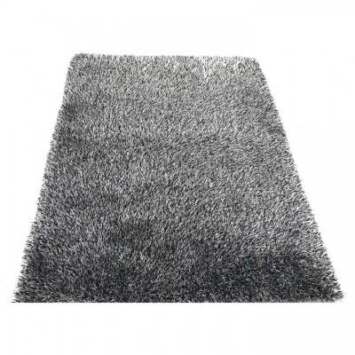 Koberec, krémovo-čierna, 170x240, VILAN