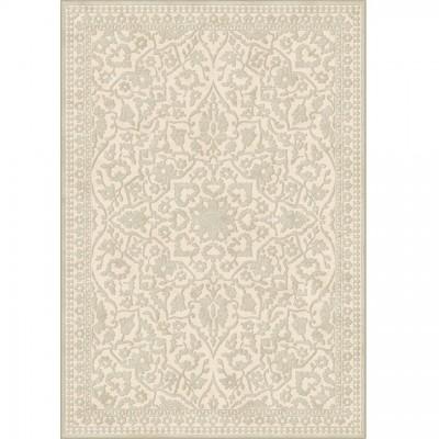 Koberec, krémová, vzor, 160x230, ROHAN