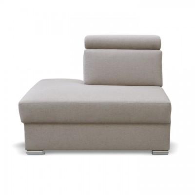 Otoman OTT MINI k luxusnej sedacej súprave, béžová, ľavý, MARIETA