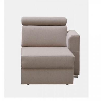 Otoman OTT 1B ZP k luxusnej sedacej súprave, béžová, pravý, MARIETA