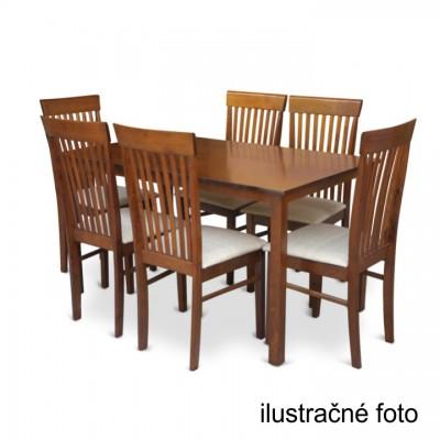 Jedálenský stôl, orech, ASTRO NEW