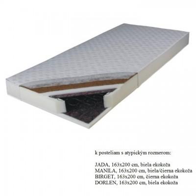 Matrac, pružinový, 163x200, KOKOS MEDIUM ATYP