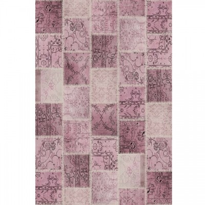 Koberec, ružový, 80x150, ADRIEL TYP 3
