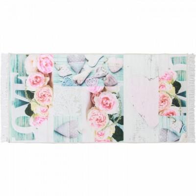 Koberec, vzor ruže, viacfarebný, 120x180, SONIL TYP 2