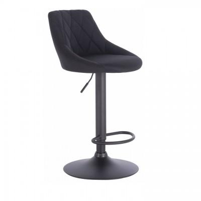 Barová stolička, čierna, TERKAN
