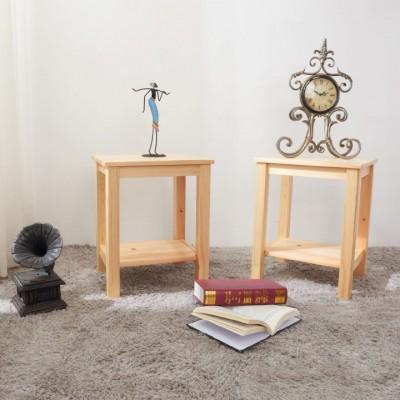 Nočný stolík, masív/prírodná, FOSIL