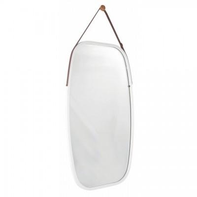 Zrkadlo, bambus biela, LEMI 3