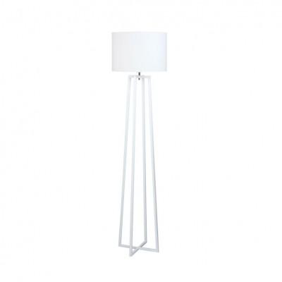 Stojacia lampa, biela, QENNY TYP 16 LF8574