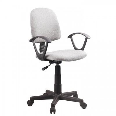 Kancelárska stolička, sivá/čierna, TAMSON