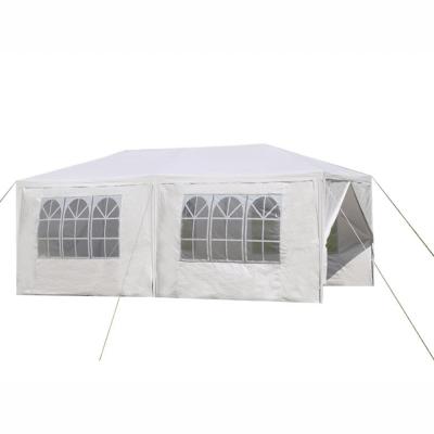 Záhradný párty stan, biela, 3x6 m, TEKNO TYP 2