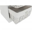 4-šuplíková komoda, biela, BLANCO