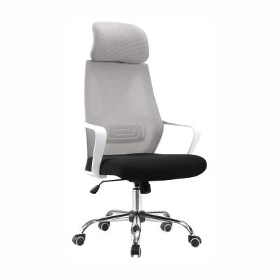 Kancelárske kreslo, sivá/čierna/biela, TAXIS