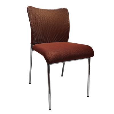 Zasadacia stolička, hnedá/chróm, ALTAN