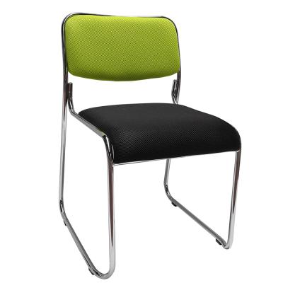 Zasadacia stolička, zelená/čierna sieťovina, BULUT