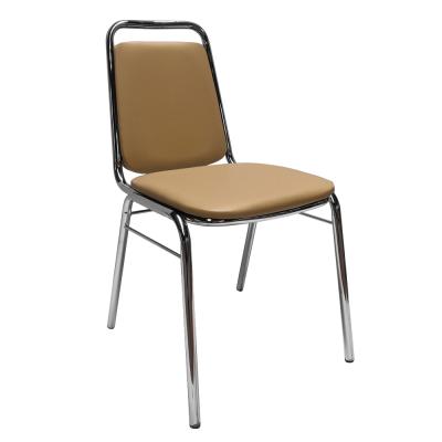 Zasadacia stolička, hnedá ekokoža, ZEKI