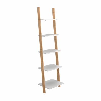 Regál, biela/bambus, GAPA TYP 3