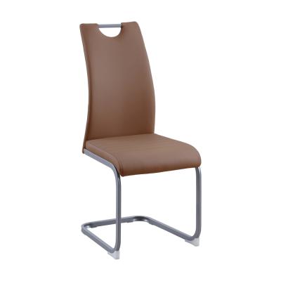 Jedálenská stolička, hnedá, DEKOMA