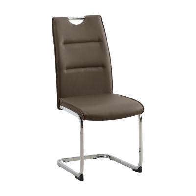 Jedálenská stolička, hnedá, TOSENA