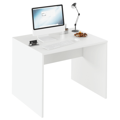 Písací stôl, biela, RIOMA TYP 12