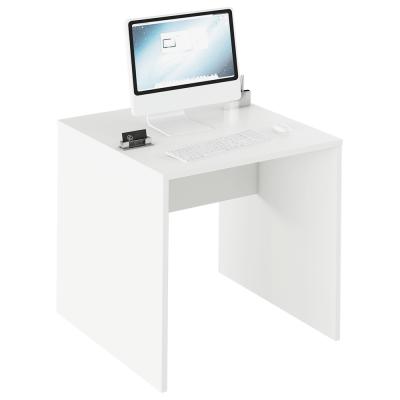 Písací stôl, biela, RIOMA TYP 17