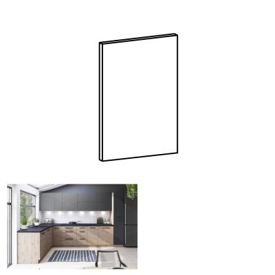 Dvierka na umývačku riadu, dub artisan, 59,6x57 cm, LANGEN