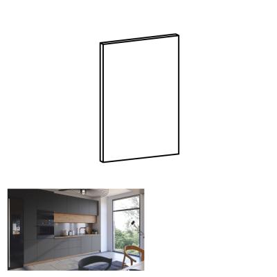 Dvierka na umývačku riadu, sivý mat, 59, 6x57 cm, LANGEN