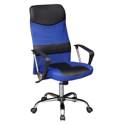 Kancelárske kreslo, modrá/čierna, TC3-973M 2 NEW
