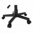Kancelárska stolička, sivá, ADRA