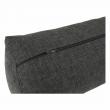 Rohová sedacia súprava, sivý melír/vankúše vzor, ľavá, MEXX NEW