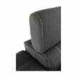 Rohová sedacia súprava, tmavosivá/svetlosivá, CHRIS