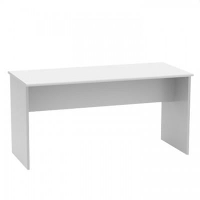 Kancelársky stôl, obojstranný, biela, JOHAN 2 NEW 08