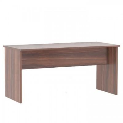 Písací stôl, obojstranný, slivka, JOHAN 2 NEW 08 JH112