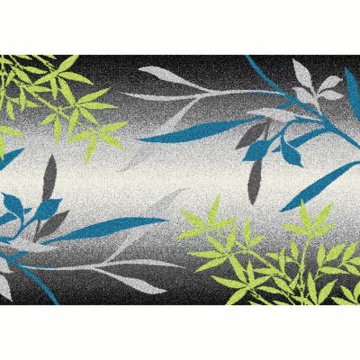 Koberec, vzor listy, viacfarebný, 100x150, TASNIM