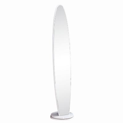 Stojanové zrkadlo, biela, TARAN NEW