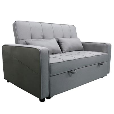 Rozkladacia pohovka, sivá, FRENKA BIG BED NEW