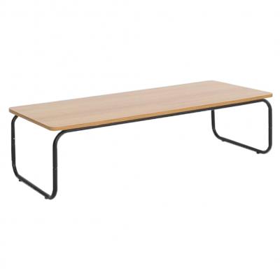 Konferenčný stolík, dub/čierna, LAVERNE TYP 1