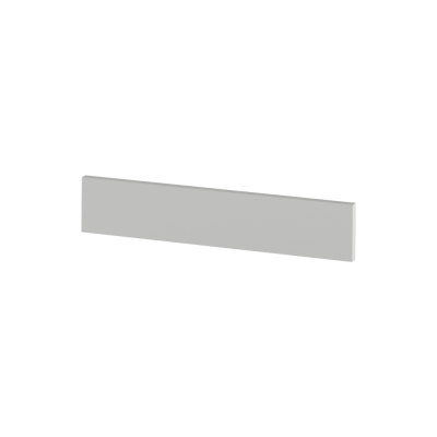 Koncový bočný sokel na vysoké skrinky, biela, JULIA TYP 92